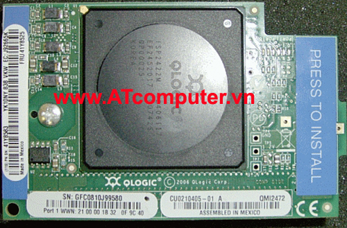 IBM Qlogic 4Gb FC Dual-Port PCIe HBA, Part: 39R6527