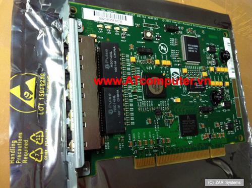 HP NC150T PCI 4-Port 1000T Gigabit Combo Switch Adapter, Part: 367132-B21