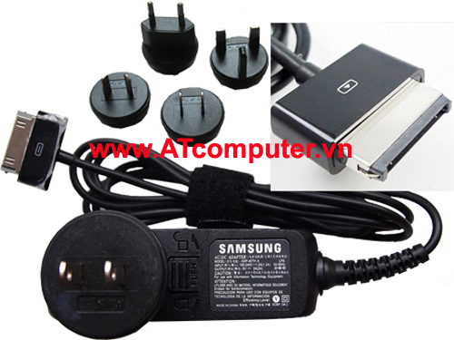 Sạc SAMSUNG 5Vol-2A 10W, P/N: GT-P5100, ADP-40TH A, For Galaxy Tab, Original