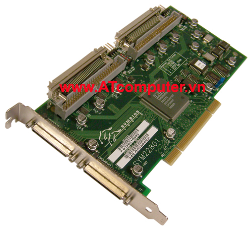 SUN PCi Dual Single-Ended Ultra, Wide SCSI, P/N: 375-0005, X6540A