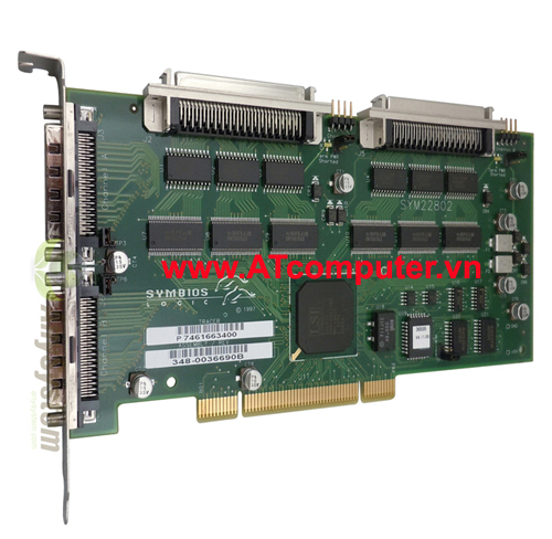 SUN PCi Dual Differential Ultra, Wide SCSI, P/N: 375-0006, 375-0014, X6541A