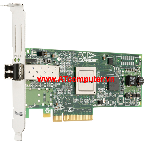 SUN Blade 1000 4Gigabit Sec PCI-X Single FC Host Adapter, P/N: 240-4905