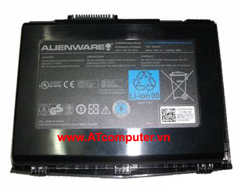 PIN DELL Alienware M18x Series, M18x R1, M18x R2. 12Cell, Oem, Part: BTYAVG1, X7YGK