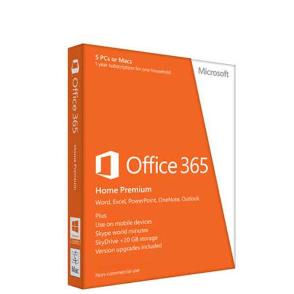 OFFICE 365 HOME PREMIUM 32BIT/64 EN SUBSCR 1 YR APAC EM MEDIALESS (6GQ-00018)