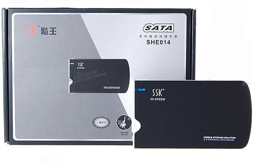 Box SSK Slim 2.5'' SATA USB2.0