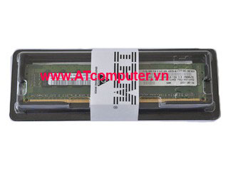 RAM IBM 4GB Dual Rank PC3-10600 CL9 ECC DDR3. Part: 44T1567, 44T1571