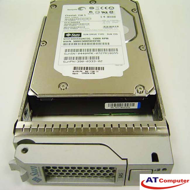 SUN 73GB SAS 15K 3.5. Part: SEAX3B11Z, 541-1959