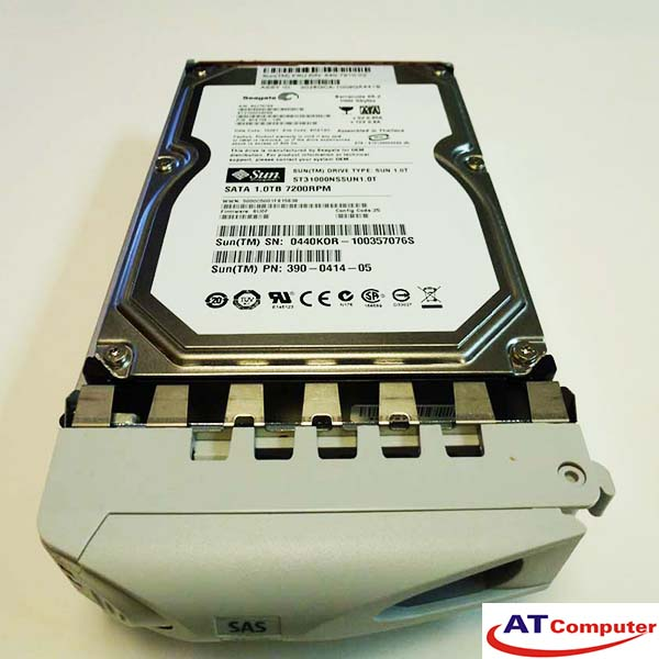 SUN 1TB SATA 7.2K 3.5. Part: XRA-ST1CR-1T7K, 540-789