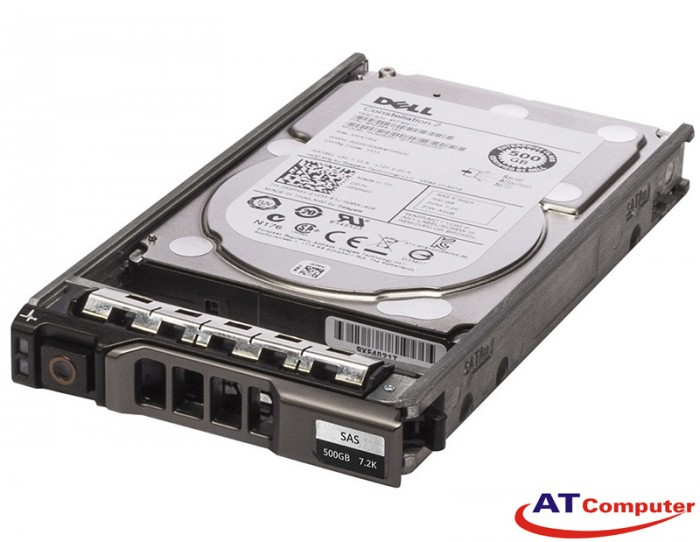 HDD DELL 500GB SAS 7.2K RPM 6Gbps 2.5. Part: K831N