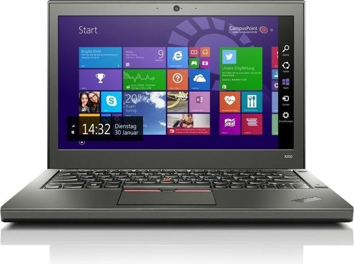 Lenovo Thinkpad X250, i5-5300U, 4G, SSD 256Gb, 12.5 LED Touch Screen, WF, WC, 6cell