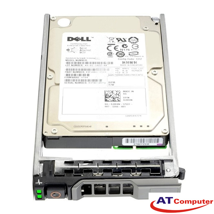 HDD DELL 300GB, Ultra 320, 15K SCSI. Part: 400-13184