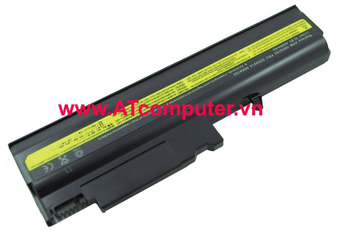 PIN IBM ThinkPad T40, T41, T42, T43, R50E, R51, R52. 6Cell, Oem, Part: 92P1012