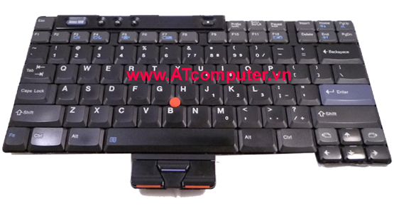Bàn phím IBM ThinkPad R50, R51, R52, T40, T41, T42, T43 Series. Part: 13N9988, 39T0519