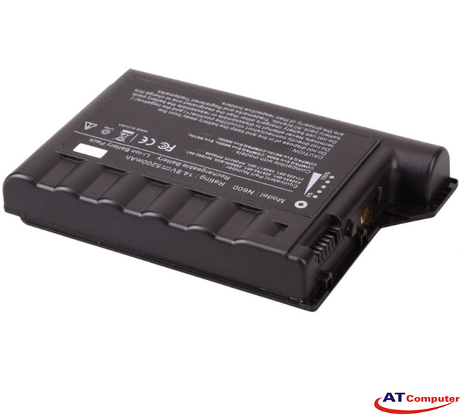PIN Compaq Evo N600, N610, N620, N600c, N610c, N620c. 6Cell, Oem, Part: 301952-001, 229783-001