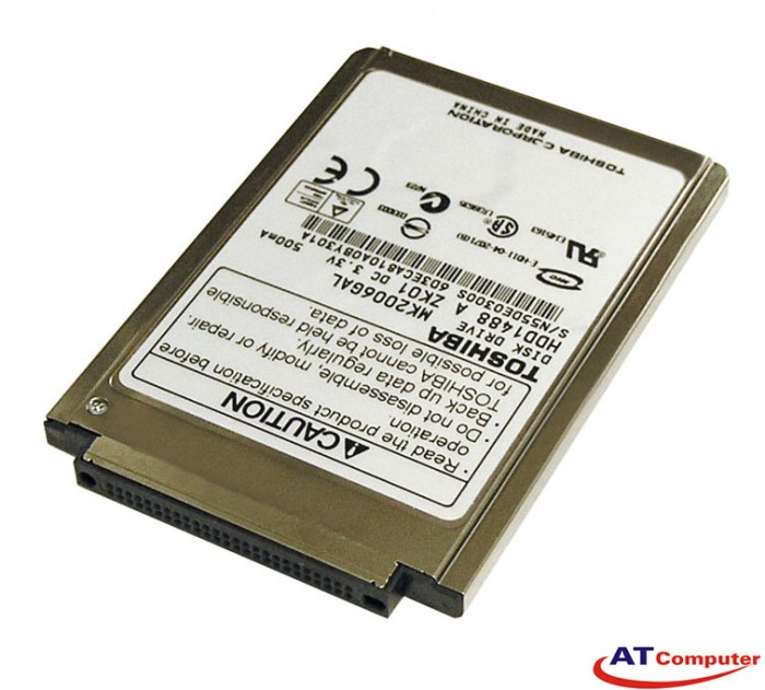 HDD TOSHIBA 80GB ATA 4200RPM Mini 1.8''