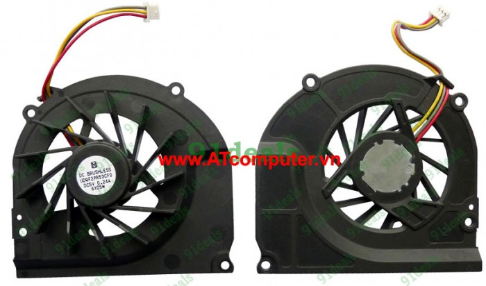FAN CPU SONY VAIO VGN-BZ Series. Part: MCF-C25BM05, DQ5D566CE00, 2ETW1CAN000, LFSY011