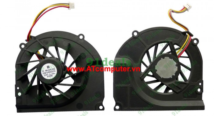FAN CPU SONY VAIO VGN-C Series. Part: LFSY011, UDQF2PR53CF0