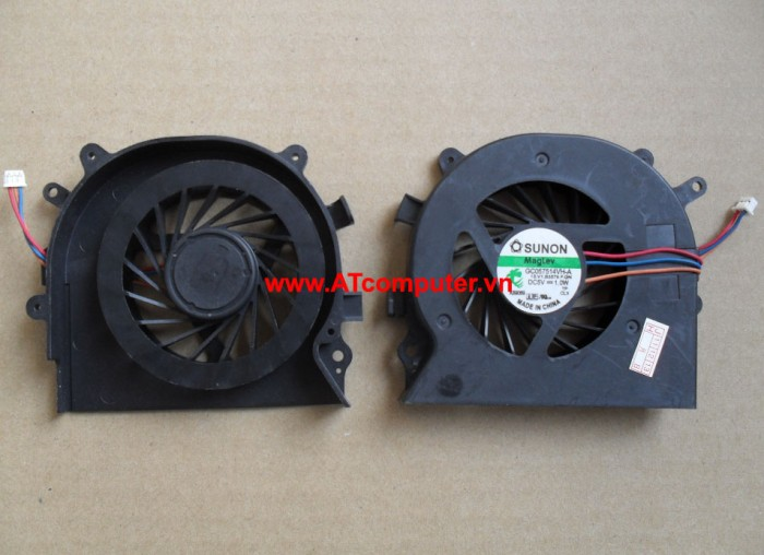 FAN CPU SONY VAIO VPC-EA, VPC-EB Series. Part: UDQFRZH14CF0, 300-0001-1302