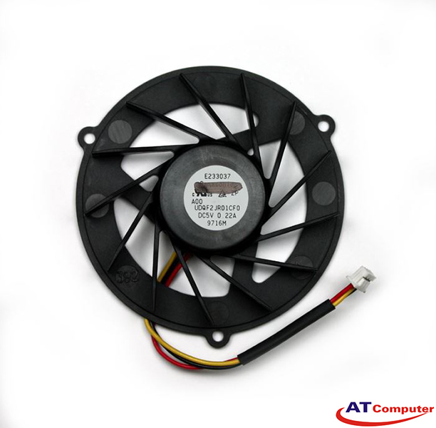 FAN CPU DELL Studio 14, 14Z, 1440, 1450, 1457, 1458. Part: W161N, WR608, 0WR608, DFS531205LCOT
