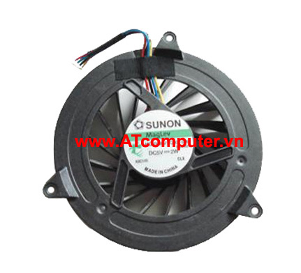 FAN CPU DELL Studio 1735, 1736, 1737, 17 Series. Part: K111D, R508D, R512D, DQ5D588H500, MCF-C24CM05