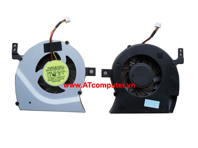 FAN CPU TOSHIBA Satellite L600, L630, L640, C600, C630, C640 Series. Part: AB7805HX-GB3, DFS491105MH0T