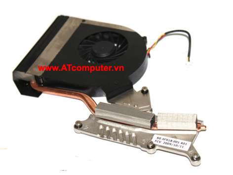 FAN CPU ACER Aspire 7736Z Series. Part: K9C12Q, 60.4FX18.001, DFS601605HB0T