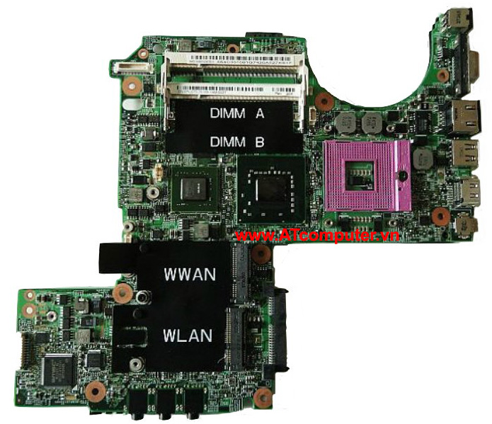 MAINBOARD DELL Latitude D620, Intel 945, VGA rời, Part: RT932