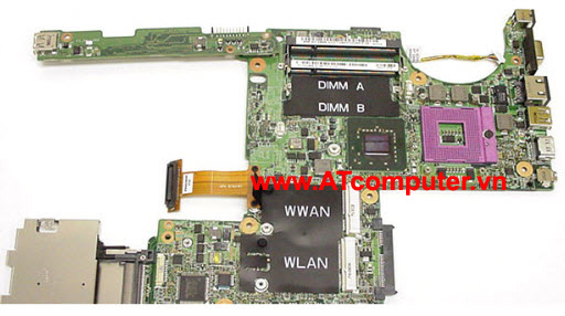 MAINBOARD DELL Latitude D630, Intel 965, VGA share, Part: R872J