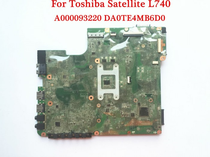 MAINBOARD TOSHIBA Satellite L740 Series, Intel Core i3, i5, i7, VGA share, Part: A0000747007