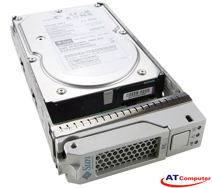 SUN 300GB 10K FC Fibre Channel. Part: XTA-3510-300GB-10K, 540-6367