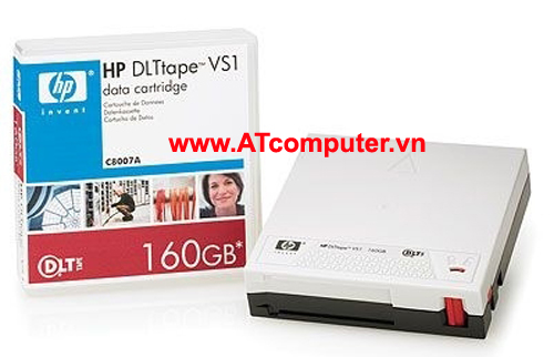HP DLT VS 160GB Data Cartridge, P/N: C8007A