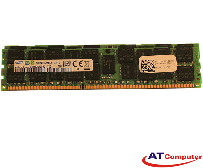 RAM FUJITSU 32GB DDR3-1600Mhz PC3-12800 (2X16GB) RG ECC. Part: S26361-F4523-R627