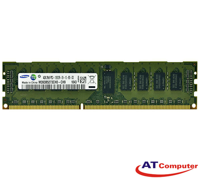 RAM FUJITSU 4GB DDR3-1333Mhz PC3-10600 RG D ECC. Part: S26361-F3598-L514