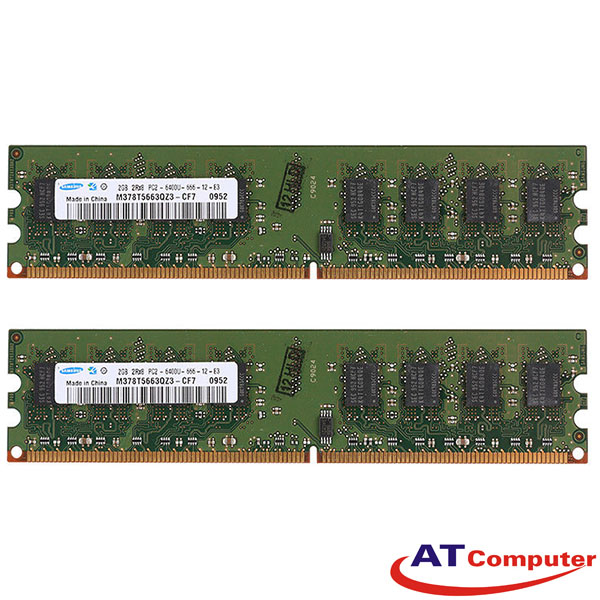 RAM FUJITSU 2GB DDR2-800Mhz PC2-6400 (2X1GB) Reg ECC. Part: S26361-F3550-L511