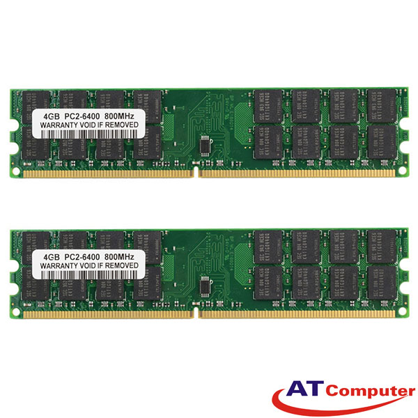 RAM FUJITSU 4GB DDR2-800Mhz PC2-6400 (2X2GB) RG ECC. Part: S26361-F3550-L512
