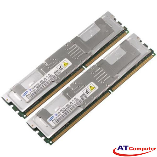 RAM FUJITSU 2GB DDR2-533Mhz PC2-4200F (2X1GB) FBD ECC. Part: S26361-F3313-L522