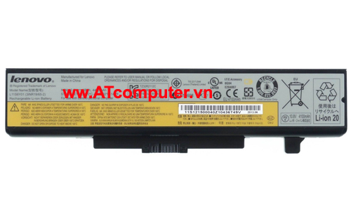 PIN LENOVO IdeaPad V480, V580, Y485, Z485, Z585. 6Cell, Original, Part: L11P6R01, L11S6F01, L11S6Y01, 45N1048, 45N104