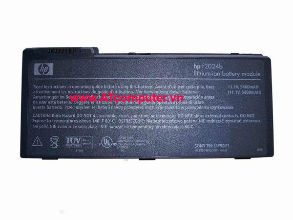 PIN HP Pavilion N5341, N5350, N5351, N5361, N5371, N5381, N5390. 6Cell, Original, Part: F2024A, F2024B