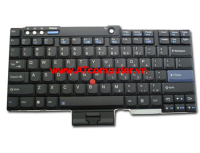 Bàn phím IBM ThinkPad T400, T500, T60, T61, Z60, Z61. Part: 42T4002, 42T3970
