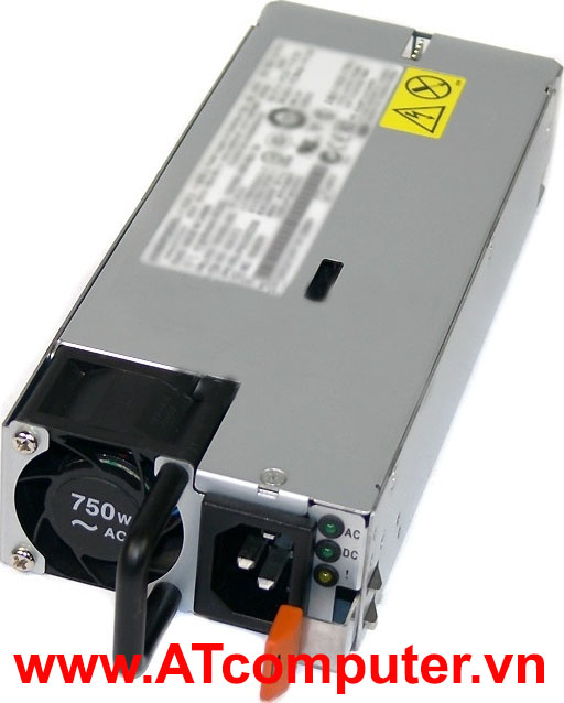 IBM 750W Power Supply, For IBM System X3750 M4, X3850 X6, X3950 X6, Part: 88Y7432, 88Y7433