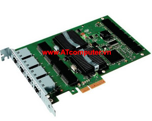 INTEL PRO 1000 ET PCI-Express Quad Port Server Adapter, PN: E1G44ET
