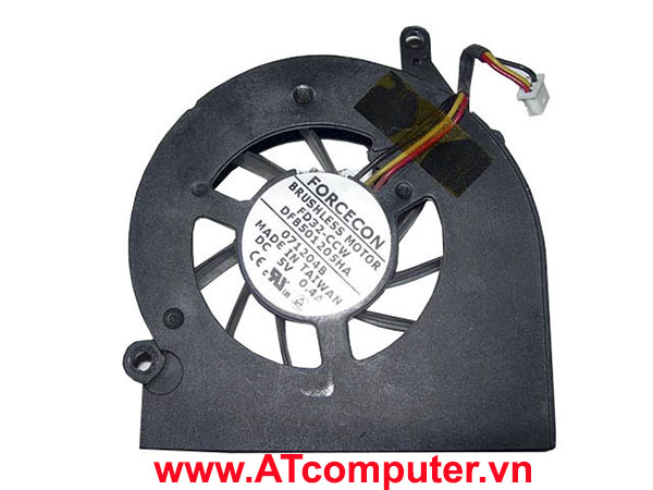 FAN CPU ACER Aspire 2000, 2010, 2020 Series. Part: 336993-001, AB0605HB-E03, ATCL314J000