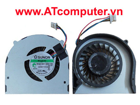 FAN CPU ACER Aspire 4810, 4810T, 4810TZ, 5810, 5810T Series. Part: DFS400805L10T, MG55100V1-Q051-S99