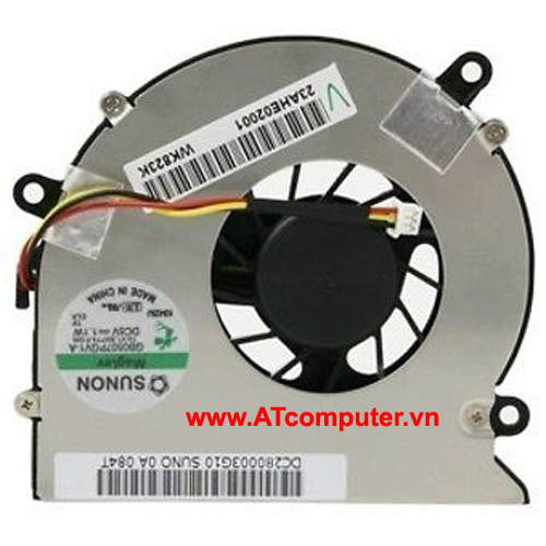 FAN CPU ACER Aspire 5220, 5315, 5720, 7720 Series. Part: AB7805HX-EB3, DC280003I00