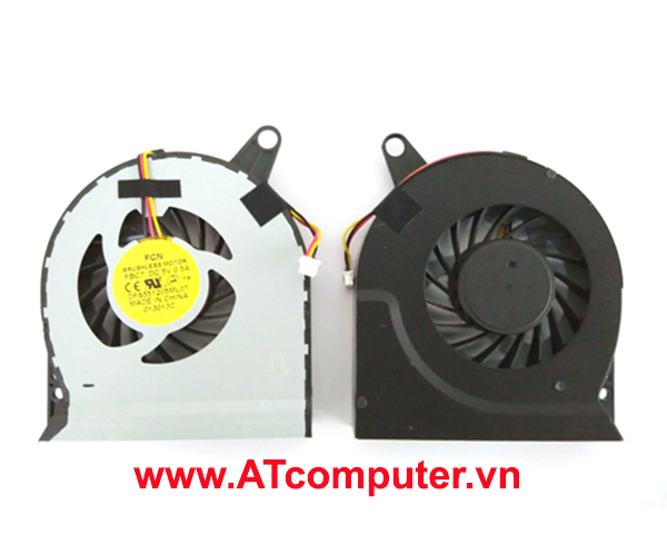 FAN CPU ACER Aspire V3-731, V3-771. Part: 13N0-7NA0G01, 60.RYQN5.001, DFB601205M20T