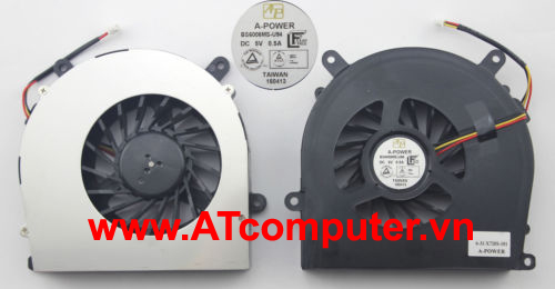 FAN CPU Clevo P150EM, NP8150, NP8170. Part: BS6005MS-U94, 6-31-X720S-101