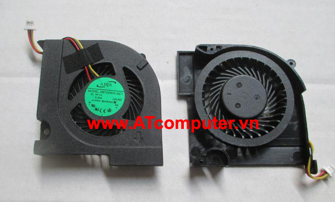 FAN CPU HP Pavilion DV3-4000, DV3-4100, HP G32 Series. Part: MF60090V1-Q000-G9A, KSB05105HA-9L03, 601336-001, 608010-001