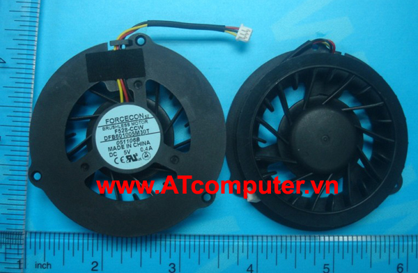 FAN CPU HP Pavilion dv4100, dv4200, dv4300, dv4400 Series. Part: DFB601005M30T, FDI9-CCW, 384622-001