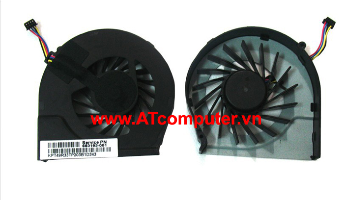 FAN CPU HP Pavilion G7-2000, G7-2100, G7Z-2000, G7Z-2100 Series. Part: 683193-001, AB6605HX-TDB (CWR3X), FAR3300EPA, 685477-001
