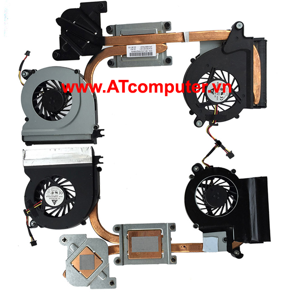 FAN CPU HP Envy 14, 14-1000, 14-2000, 14T Series. Part: 608378-001, 657529-001, 657973-001, KSB05105HA-9L16, KSB05105HA-9L17